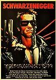 ZRRTTG Leinwand Druck Poster 60x90cm Das Terminator Dekor