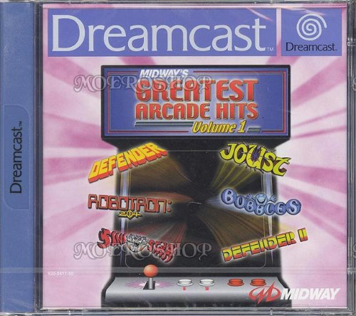 Dreamcast - Midway's Greatest Arcade Hits Vol. 1