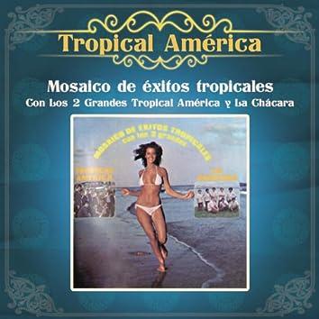 Mosaico de Exitos Tropicales Con Los 2 Grandes Tropical América y La Chácara
