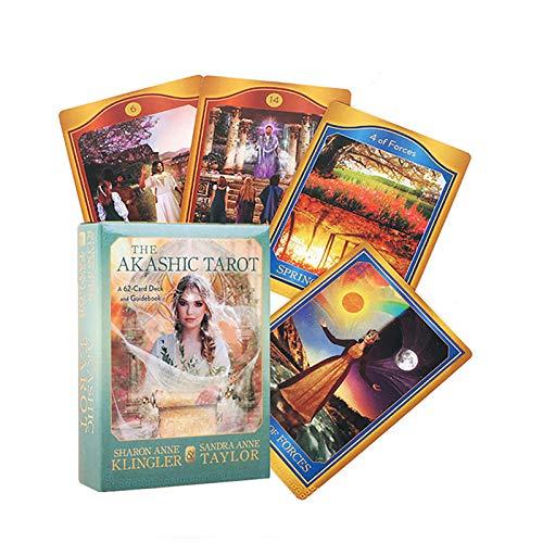 Tarot Card, Oracle-Karten, Tischspiele Für Teenager, Familien, Orakelkarten(Color:Ö)