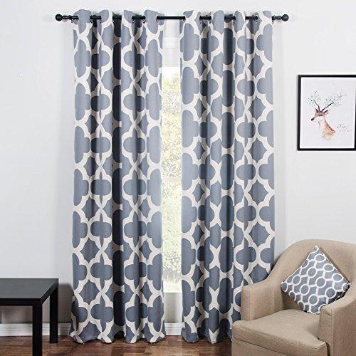 cortinas salon estampadas colores