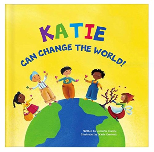 Acts of Kindness for Kids, Self Esteem Books for Kids, Be The Change, Teaching Kindness Manners, Personalized (Softcover)
