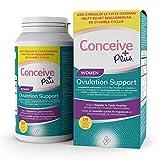CONCEIVE PLUS Myo Inositol, D Chiro Inositol, CoQ10, Supplément de fertilité pour femmes à l'acide folique -...