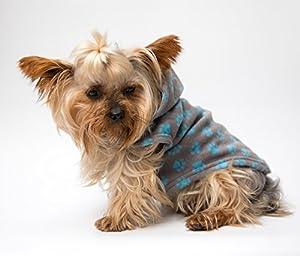 Polaire chaude à capuche XS S M Chien Vêtements à rabat de luxe pour chiot Pet Vêtements Manteau T-shirt Apparel Pull à capuche Cadeau Yorkshire Chihuahua Westie chaud Small Medium Chiens de grande taille
