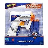 Nerf Elite Triad EX3 et Flechettes Nerf Elite Officielles