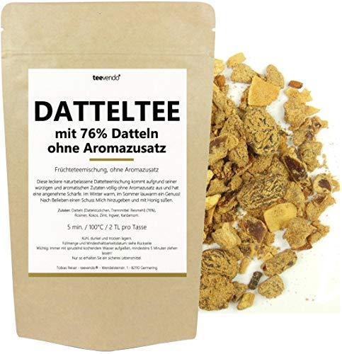 100g teevendo Datteltee mit 76% Datteln - Früchteteemischung - ohne Aromazusatz