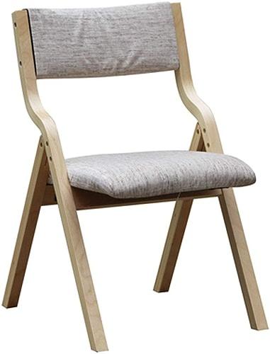 LYXPUZI Chaise Pliante en Bois Massif Chaise de Salle à Manger Chaise d'ordinateur Chaise de Bureau Chaise de Maison