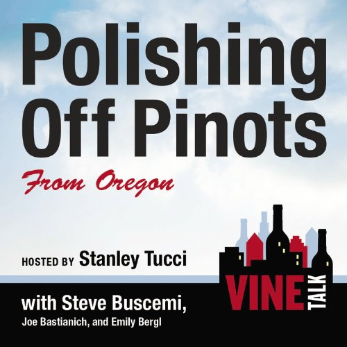 『Polishing Off Pinots from Oregon』のカバーアート