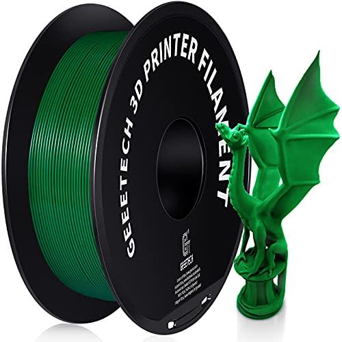 Geeetech PETG Filament 1.75 mm Green PETG 1 kg Spool for 3D Printer