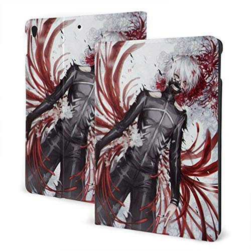 Anime Cartoon Tokyo Ghoul Case Fit iPad air 3 pro 10.5 Inch Case with Auto Sleep/Wake Ultra Slim Lightweight Stand Leather Cases