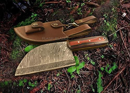 Almazan replica Serbian kitchen knife chef knife cleaver chopper handmade Damascus Steel