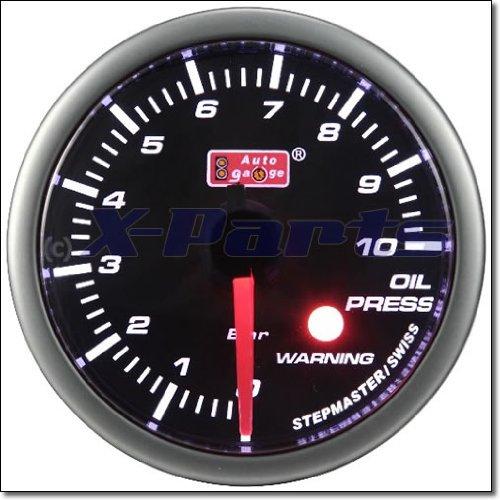 52mm Stepper Öldruckanzeige AutoGauge Geber Oilpress