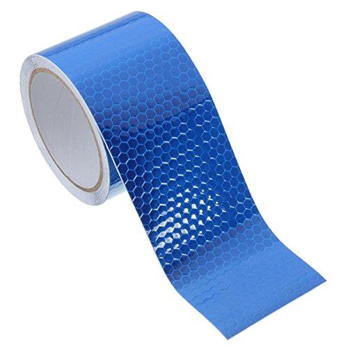 kentop reflector banda reflectante Cinta adhesiva cinta adhesiva de advertencia Absperrband para Seguridad warnun, 5cm × 3m 5cm*3m azul