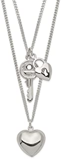 Best tiffany double heart tag necklace Reviews