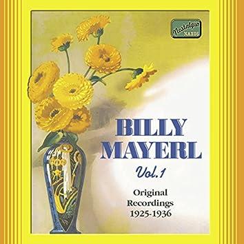Mayerl, Billy: Billy Mayerl, Vol.  1 (1925-1936)