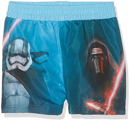 Star Wars Pantalones Cortos de baño premamá, Azul, 3-4 Años para Niños