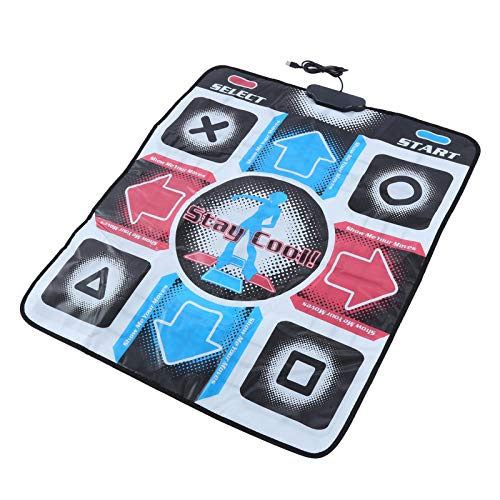 Yosoo Health Gear Dance Game Mat, Dance Pad Controller mit USB-Kabel, multifunktionale rutschfeste Tanzmatte für PC