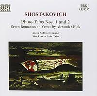 Shostakovich: Piano Trios Nos. 1 & 2 / Seven Romances on Verses by Blok (1997-03-18)