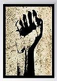 Graffiti Faust Freiheit Kunstdruck Poster -ungerahmt- Bild