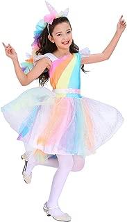 Direct Halloween Girls Rainbow Unicorn Costume