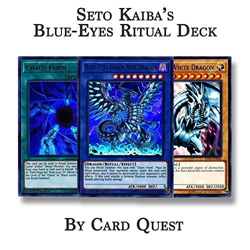 Yu-Gi-Oh! Seto Kaiba Complete Blue-Eyes Chaos Dragon Ritual Deck