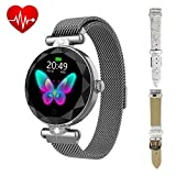 ZGPAX Fitness Watch for Women with Step Counter Calorie...