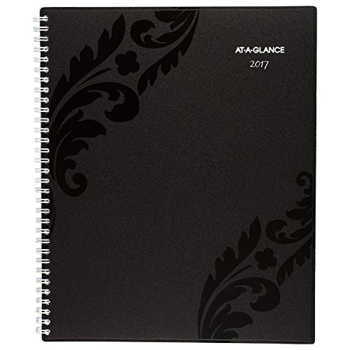"""AT-A-GLANCE Weekly / Monthly Appointment Book / Planner 2017, 8-1/2 x 11"""", Madrid (793-905)"""