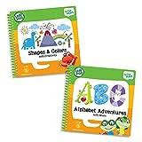 LeapFrog Leapstart Preschool Activity Book Bundle with ABC, Shapes & Colors, Level 1