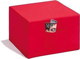 comprar comparacion Badenia Bettcomfort Madrid, Colchón plegable, Rojo, 195 x 130 x 7 cm