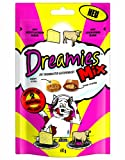 Dreamies Katzensnack Mix mit Käse und Rind, 3er Pack (3 x 60g)