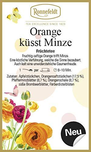 Orange küsst Minze - Früchtetee - 100g