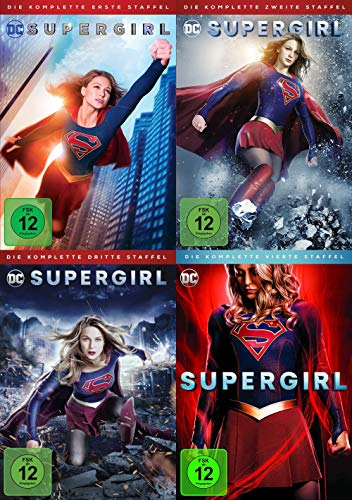 Supergirl Complete Collection - Staffel 1 + 2 + 3 + 4 TV-Serie 20 DVD Edition