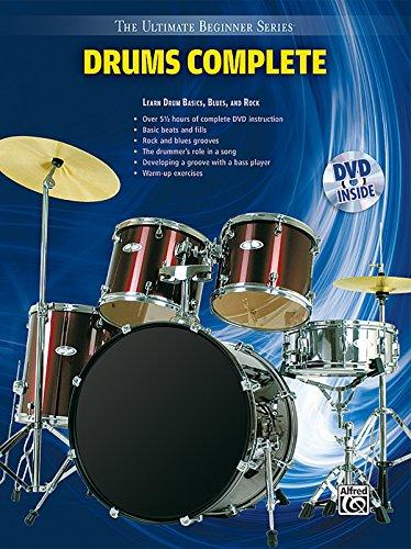 Ultimate Beginner Drums: Complete, Book & DVD (Sleeve) (The Ultimate Beginner Series)