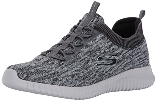 Skechers Men Elite Flex-Hartnell Trainers, Grey (Grey/Black), 41 EU (7 UK)