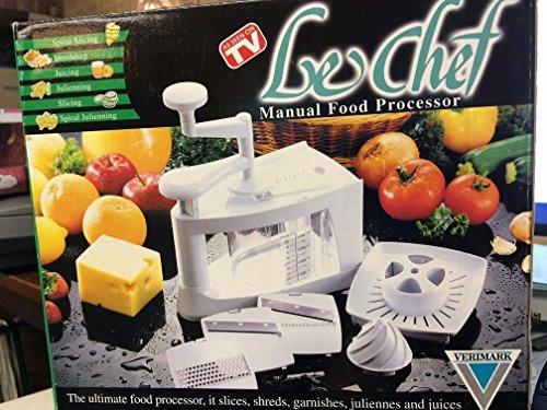 LeChef Manual Food Processor by Verimark