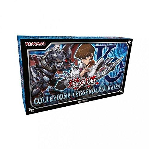 Konami- COLL LEGGENDARIA KAIBA Collezione di Carte, Colore Blu, 1