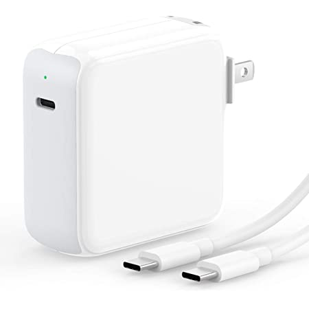MacBook Pro Charger 61W USB-C to Type-C Ac Power Adapter Charger Compatible with MacBook Pro 13 Inch 12 Inch MacBook Air 13 Inch 2018