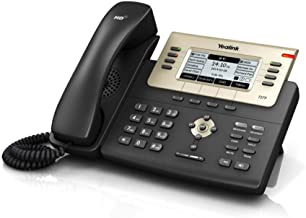 $79 » Yealink T27G IP Phone, 6 Lines. 3.66-Inch Graphical LCD. USB 2.0, Dual-Port Gigabit Ethernet, 802.3af PoE, Power Adapter Not Included (SIP-T27G) (Renewed)