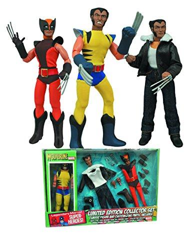Marvel Comics Wolverine Ensemble de Figurines rétro 20,3 cm