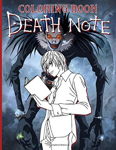 Death Note Coloring Book: Stunning Death Note Coloring Books For Adults