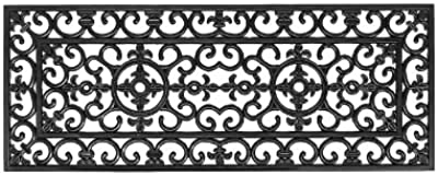 Imports Decor Rubber Doormat, Napoleon, 18-Inch by 47-Inch