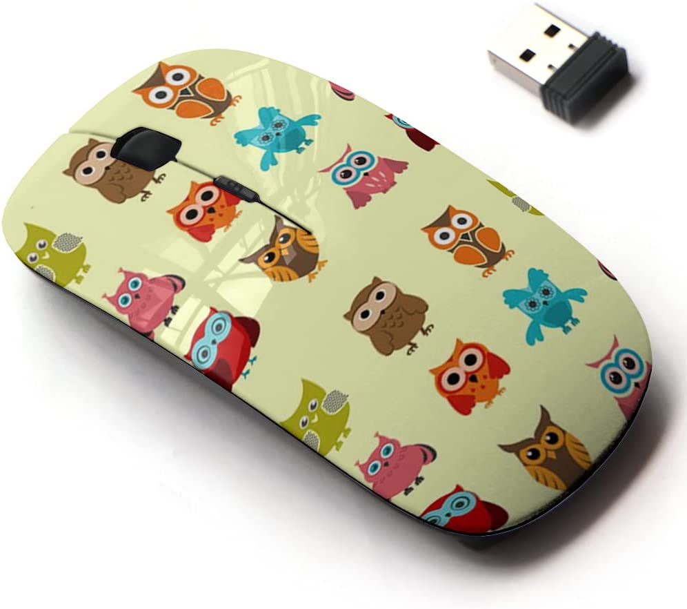 2.4G Wireless Mouse with Cheap mail order shopping Cute Pattern Sale for Laptops Design and All