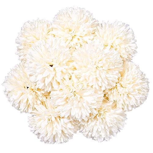 StarLifey 20 Unidades Lirio de Cala Artificial Calidad Ramo de Flores Sensación Real al Tacto Boda, Nupcial, Partido, Hogar, Oficina de la Decoración de DIY (Blanco)