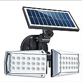 Lampada Da Parete Solare Cortile Lampada Da Strada Solare Da Esterno Microonde Induzione Umana Rotante Impermeabile