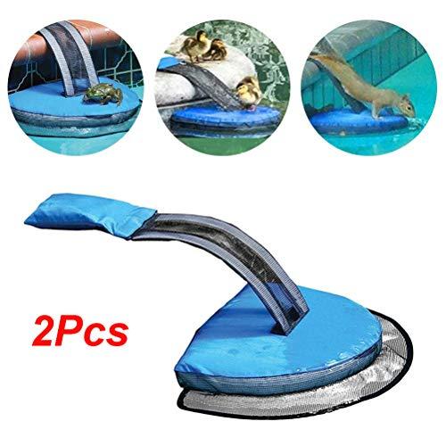 Akemaio 2 Stück Kleintier-Fluchtrampe Schwimmbad Tierrampe Tierrettungswerkzeug für Pool
