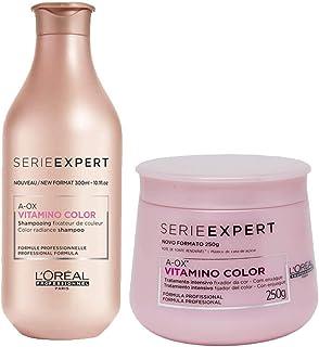 Kit Shampoo 300ml + Máscara 250g Vitamino Color Loreal Edição Limitada