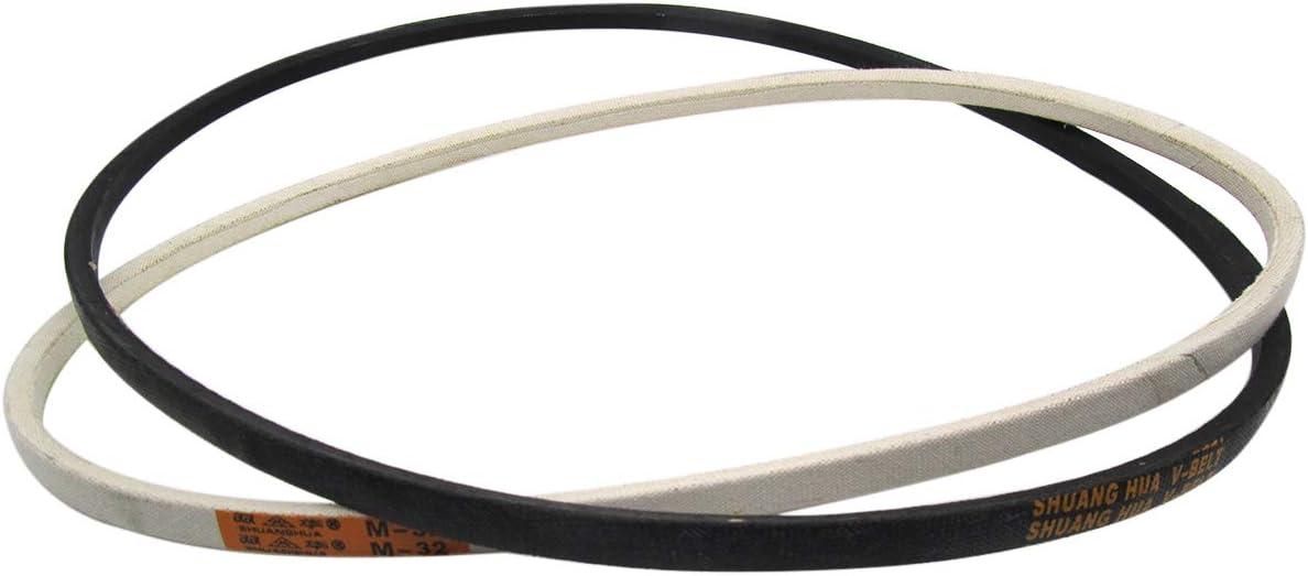 CKPSMS Marca – Motor de embrague de máquina de coser industrial blanco o negro # V-Belt (2 piezas) (44 pulgadas)