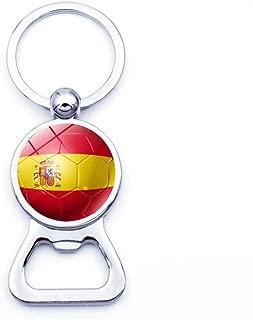 OSTELY 2018 Football Bottle Opener Key Chain Merchandise Love Souvenir