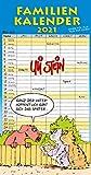 Uli Stein – Familienkalender 2021: Familienplaner mit 5 Spalten