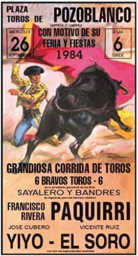 Cartel de Toros Pozoblanco (Reproducción)